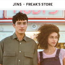 「JINS×FREAK'S STORE」コラボメガネ!