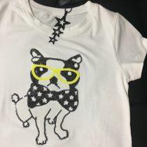 ★スパンコールフレンチTシャツ★