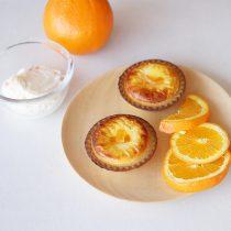 オレンジヨーグルトチーズタルト・1個280円