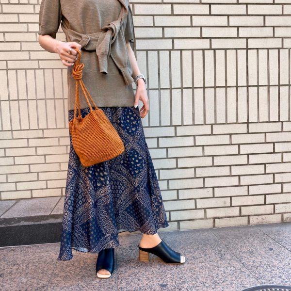 パネル切り替えが可愛い♡スカート