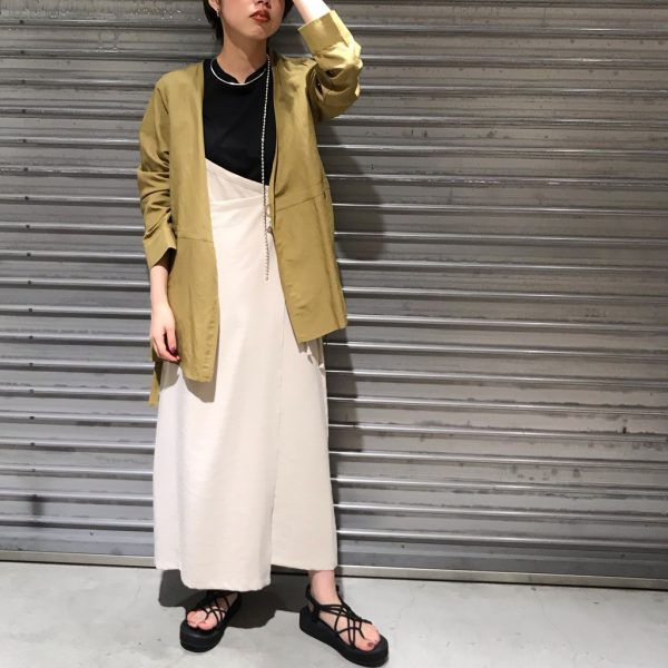 アシメ2WAYキャミスカート★