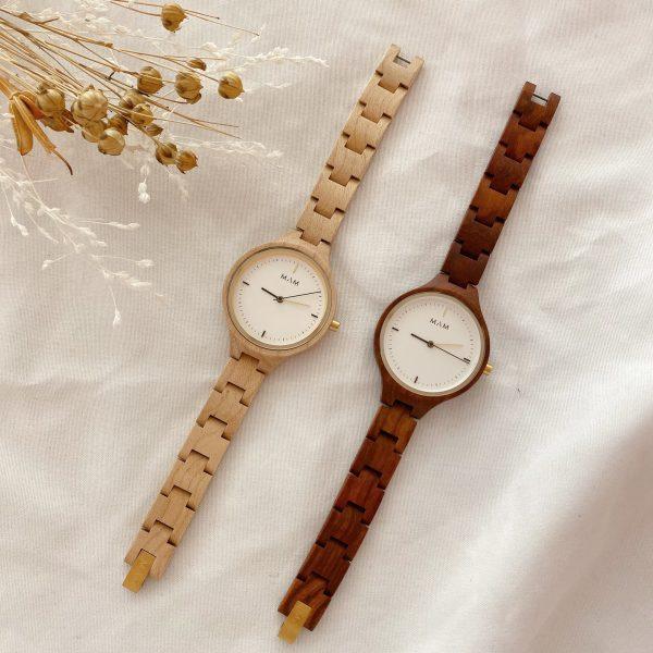 木の腕時計🌳MAM