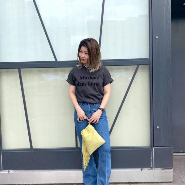 ロゴがオシャレ可愛い!!ロゴTシャツ